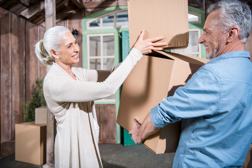 How do you declutter before downsizing